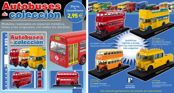 Autobuses de coleccion